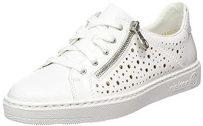 wie man serch bester Ort für riesige Auswahl an Rieker Damen M7928 Sneaker