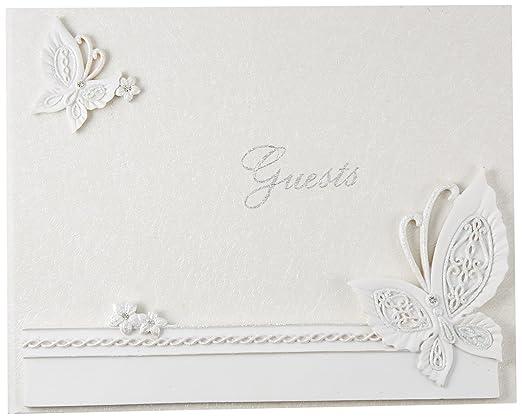 2 opinioni per Farfalla disegno wedding guest book