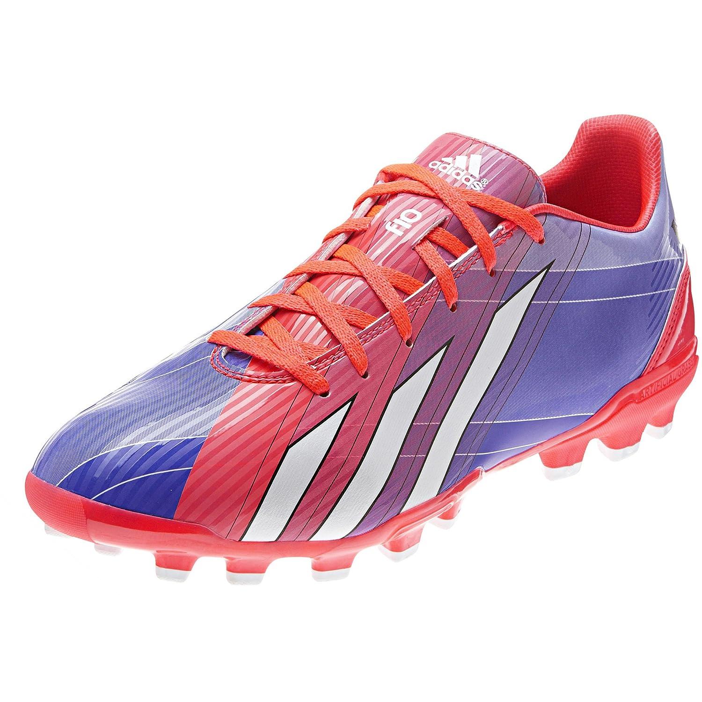 Adidas - Bota f10 traxion artificial grass messi, talla talla talla 42, color rojo be9b4c
