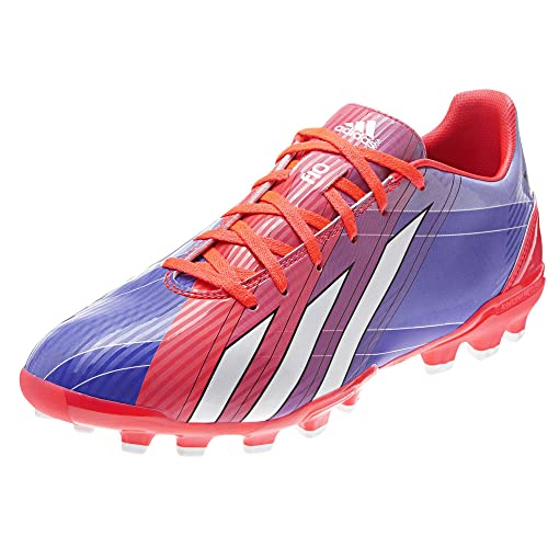 competitive price ab493 75a9d adidas Bota F10 TRX AG Messi Turbo-Purple Amazon.es Zapatos y complementos