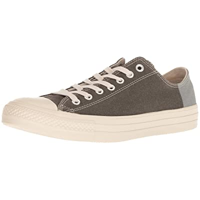 Converse Unisex CTAS OX Jute/Black/Cool Grey Fashion Sneaker | Fashion Sneakers