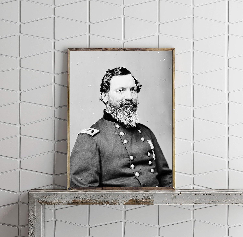 INFINITE PHOTOGRAPHS Photo Portrait,Major General John Sedgwick,Uniform,Officer,Federal Army,Civil War,1860