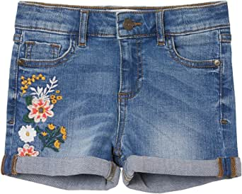 FatFace Girls Embroidered Denim Shorts