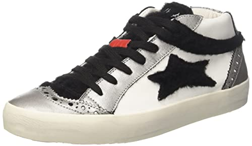 Ishikawa 1255, Sneaker a Collo Alto Unisex - Adulto, Bianco, 38 EU