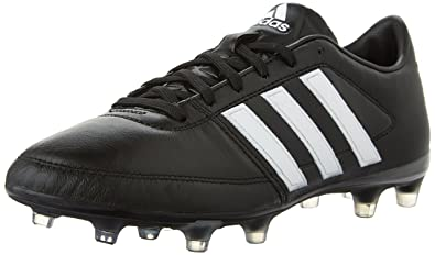 Adidas Performance Men's Gloro 16.1 FG Soccer Cleat, Black/White/Metallic  Silver,
