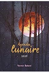 Mon agenda lunaire Hardcover