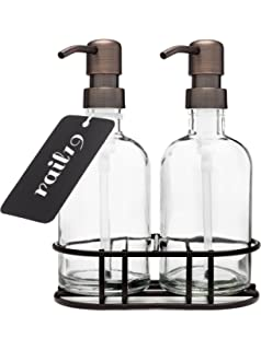 Amazoncom Wentao 3 Piece Ceramic Bath Accessory Set Liquid Soap