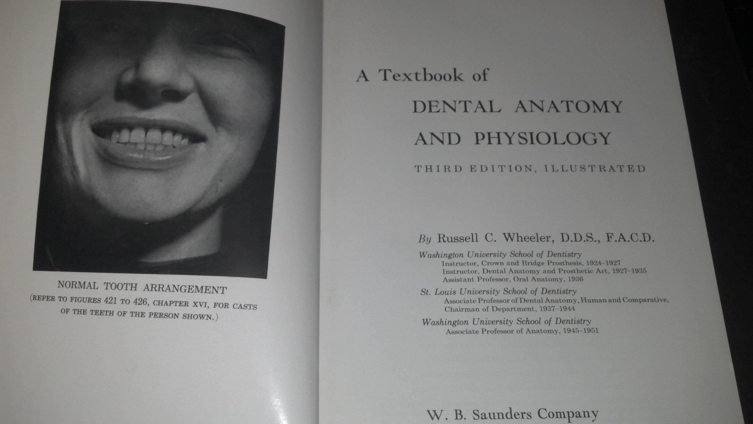A Textbook of Dental Anatomy and Physiology: Third Edition: Russell ...