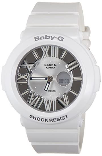 4767cbe731d Buy Casio Baby-G Analog-Digital White Dial Women s Watch - BGA-160-7B1DR  (B145) Online at Low Prices in India - Amazon.in