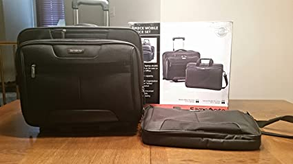 Samsonite 2 Piece Mobile Office 46469 1041