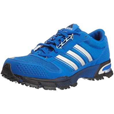 huge discount ca6e4 8b639 adidas Men s Marathon Tr 10 Blue Beauty Metallic Silver Black Trainer  G21773 12 UK