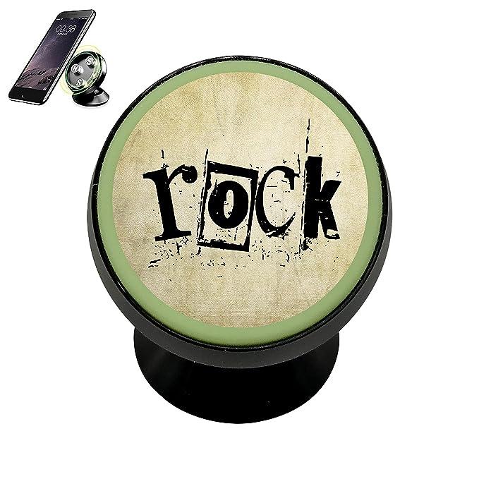 Rock Soporte Universal para GPS Soporte magnético 360 Teléfono Móvil Soporte de Coche Soporte para Smartphone