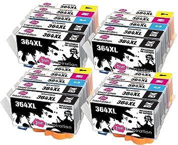 INK INSPIRATION® Reemplazo para HP 364 364XL 20 Cartuchos de Tinta ...