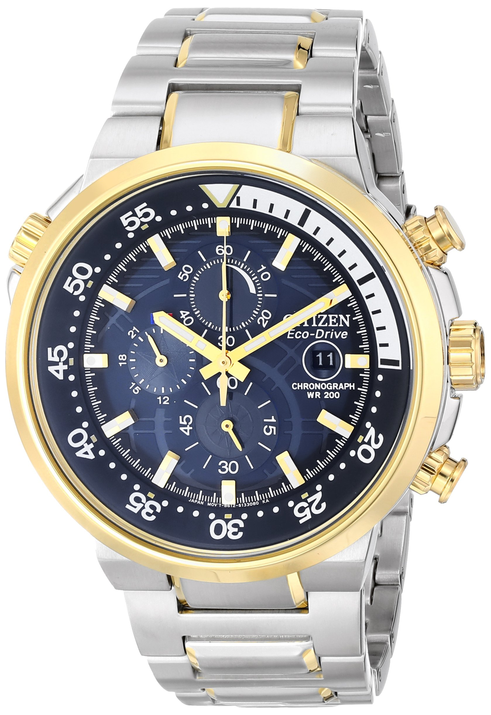 Citizen Eco-Drive Men's CA0444-50L Endeavor Analog Display Two Tone Watch