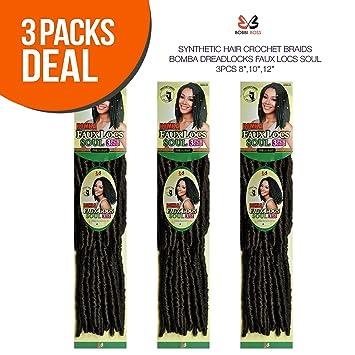 Amazon.com: Multi Pack de oferta. Bobbi Boss pelo sintético ...