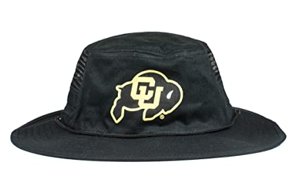 fd5924cf4bc Cowbucker NCAA Colorado Buffaloes Unisex boon001NCAA Mesh Boonie Hat  W Adjustable Chinstrap
