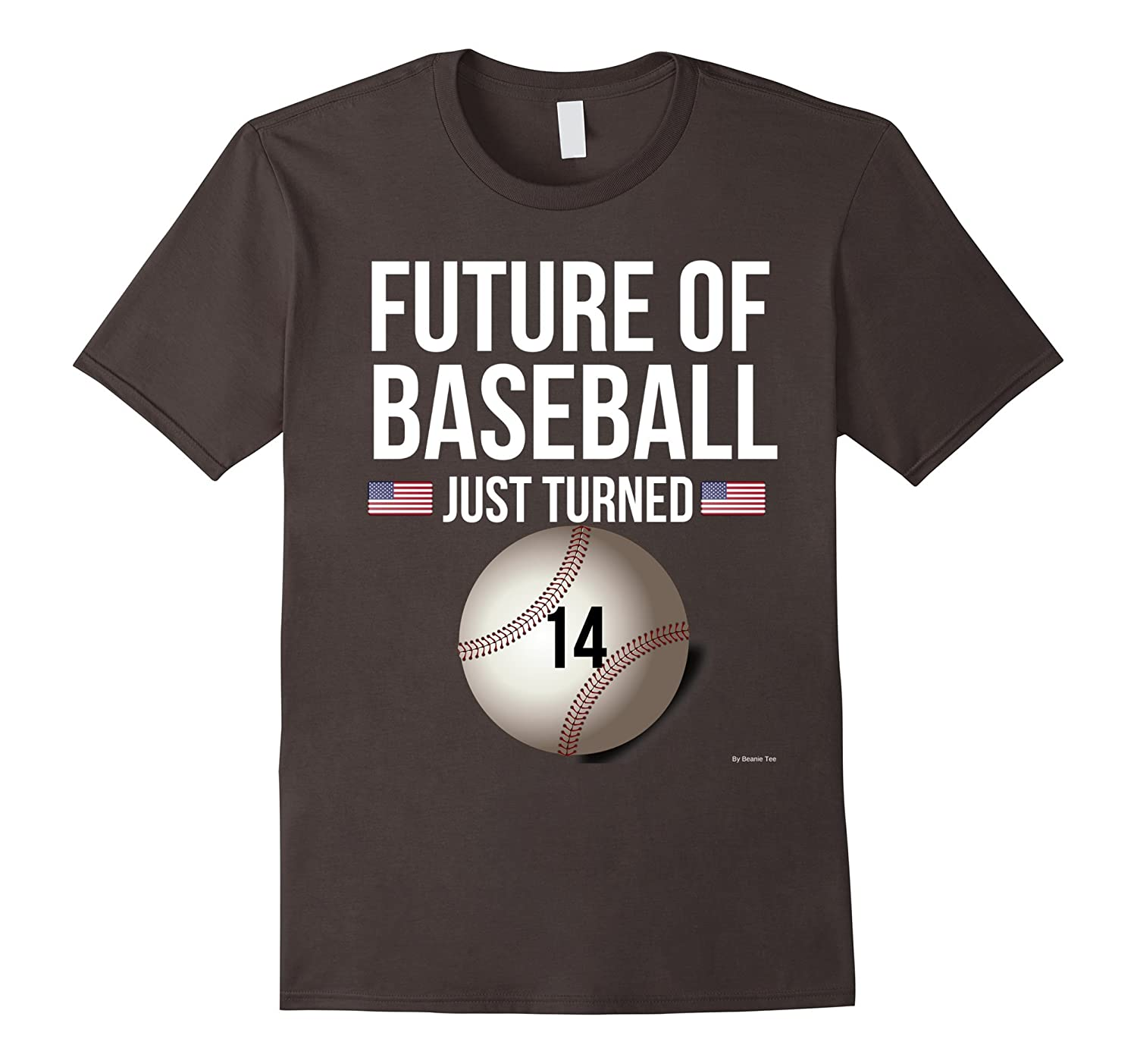 14th Birthday Baseball T Shirt For 14 Year Old Gift TH