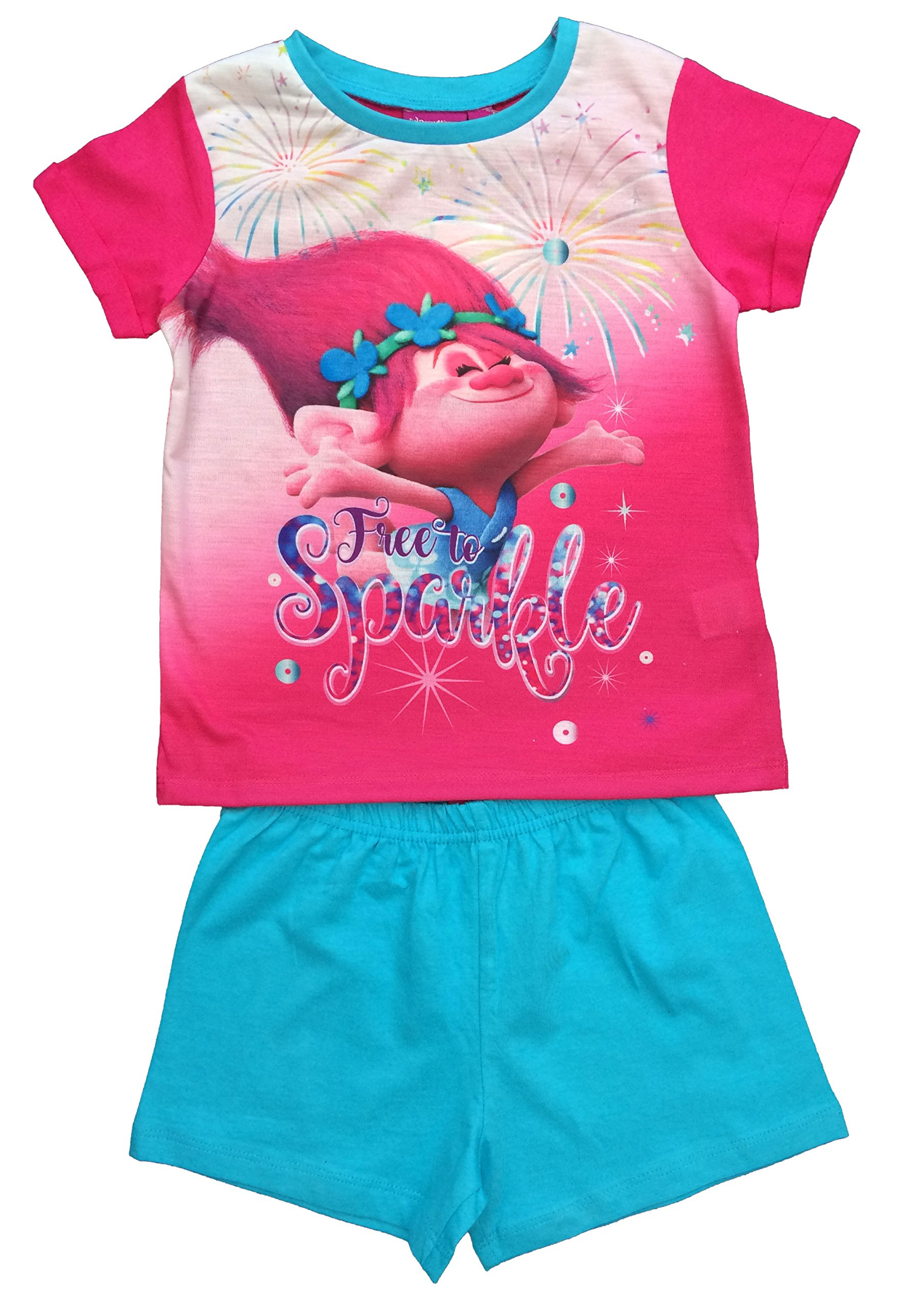 Dreamworks Trolls Girls pyjamas age 5-6 years trolls