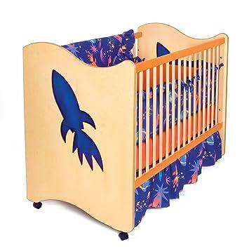 Amazon Com Room Magic Crib Toddler Bed Star Rocket Baby