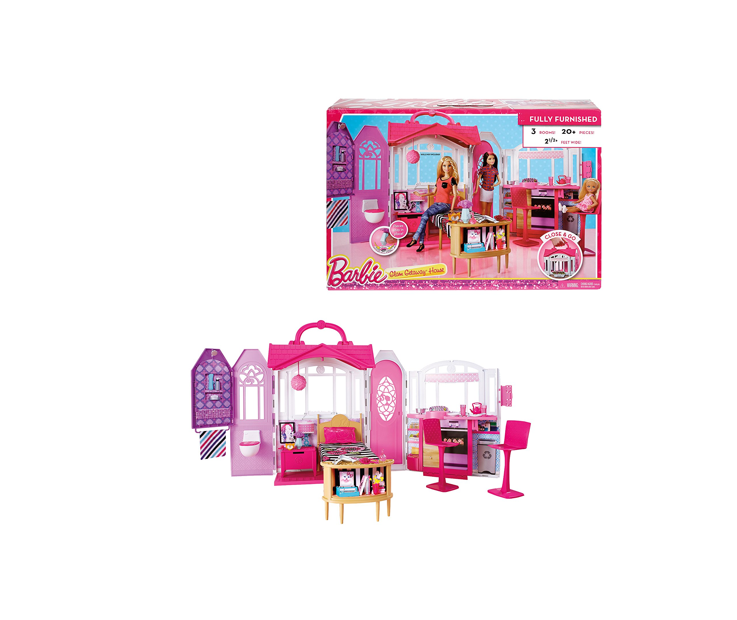 Get Your Dream Affordable: Barbie Glam Gateway Dream House Games Girl Toy Boxes For