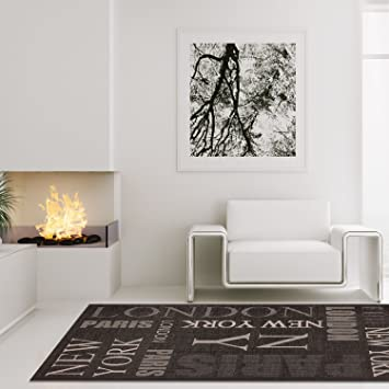 carpet city Teppich Modern Designer Wohnzimmer Villa Sisal New York ...
