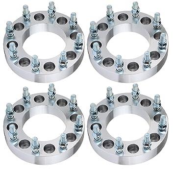 Rueda Espaciador para Chevy y GMC, eccpp rueda espaciadores 8 Lug 4 piezas 1,5