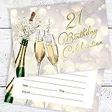 21st Birthday Celebration Invites