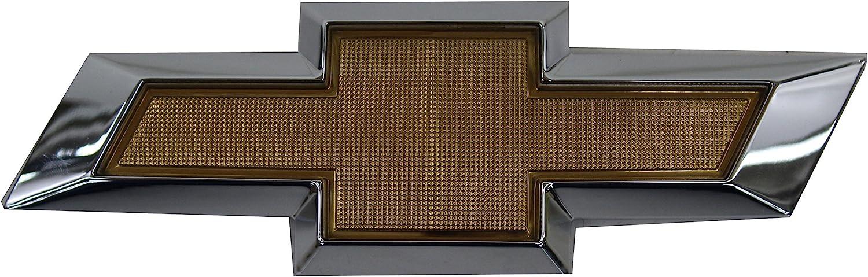 22829420 Gold Bowtie Grille Emblem for 2011-2014 2500 3500 HD Silverado by GM
