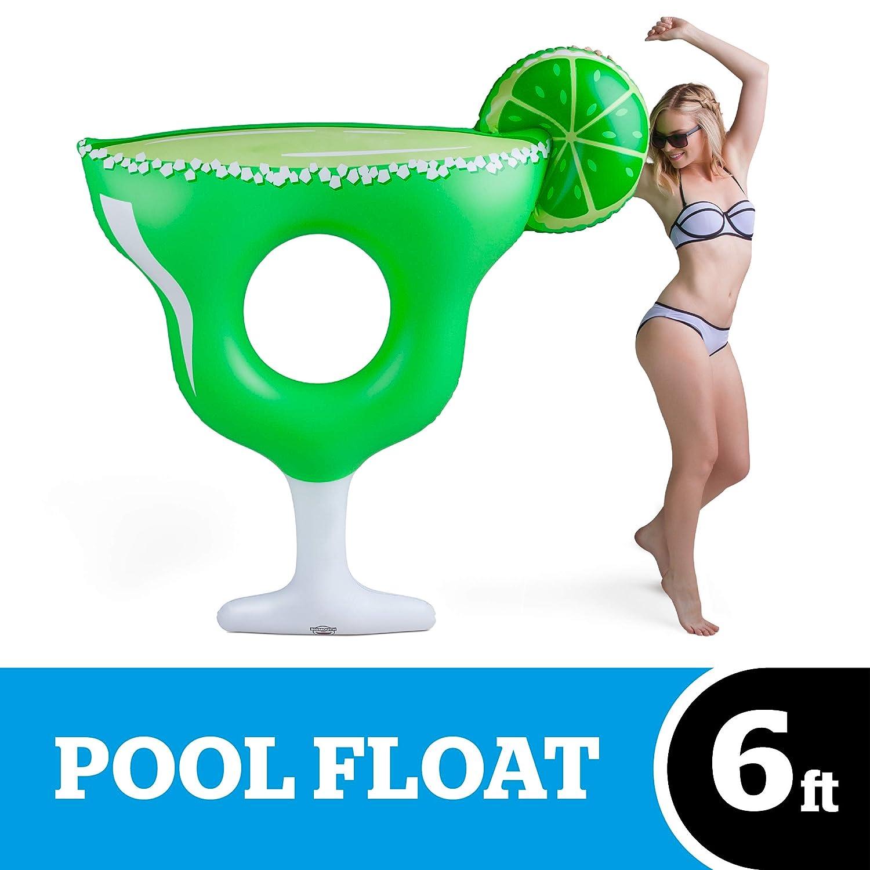 BigMouth Inc Flotador gigante piscina margarita: Amazon.es ...