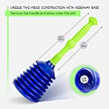 Luigi's Large Sink and Drain Plunger for