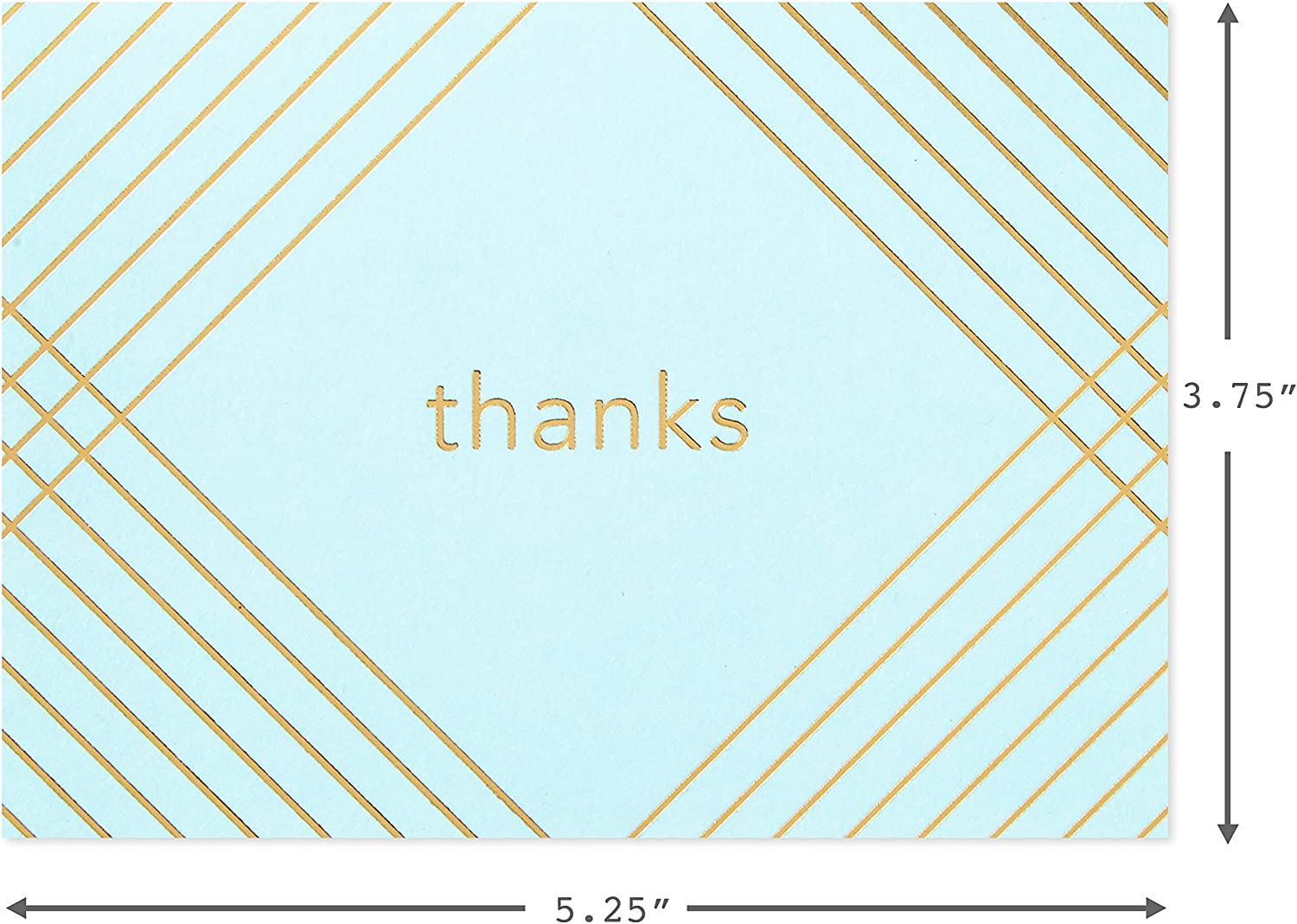 3.75 x 5 In, 120-Pk Blank Thank You Cards with Silver Font and Envelopes