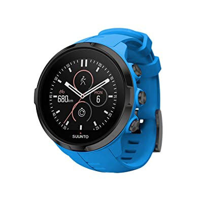 Suunto Spartan Sport Wrist HR Multisport GPS Watch and Heart Rate Monitor (Blue)