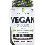Bodylogix Vegan Protein Powder, NSF Certified, Decadent Chocolate, 2 Pound