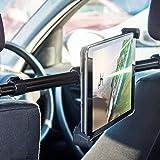Olixar Universal Tablet Car Headrest Mount Pro Supporto Posteriore Porta Tablet Ipad da 7'' ad 11'' pollici Auto Poggiatesta Sedile Universale Regolabile in Orizzontale Rotante Traslazione Orizzontale da Destra a Sinistra da 190 mm a 300 mm
