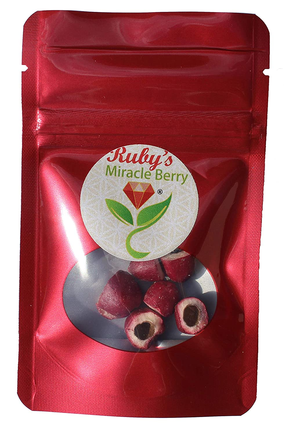 Ruby's Miracle Berry - The Flavor Changing Berry | 6 Servings | 3 Berries sliced & deseeded | 15-30 Mins Each