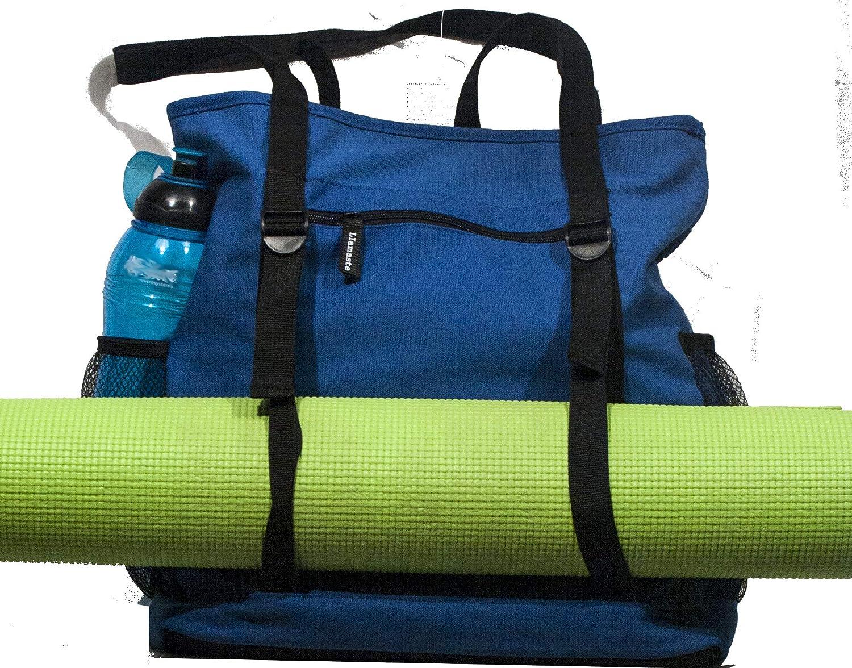 Riverside Blue Llamaste Yoga Tote Bag