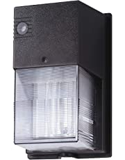 Lithonia Lighting W70SPL 120 M6 70W High Pressure Sodium Wall Pack with Polycarbonate Lens and Bulb, Bronze