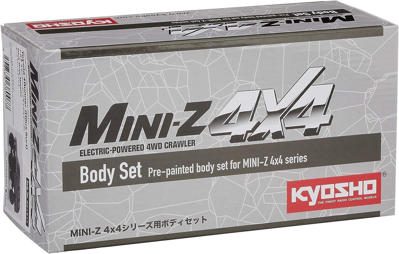 Kyosho Bs Mx-01 Toyota 4Runner Dark Gray Metallic Body Set Mxb02Gm Japan