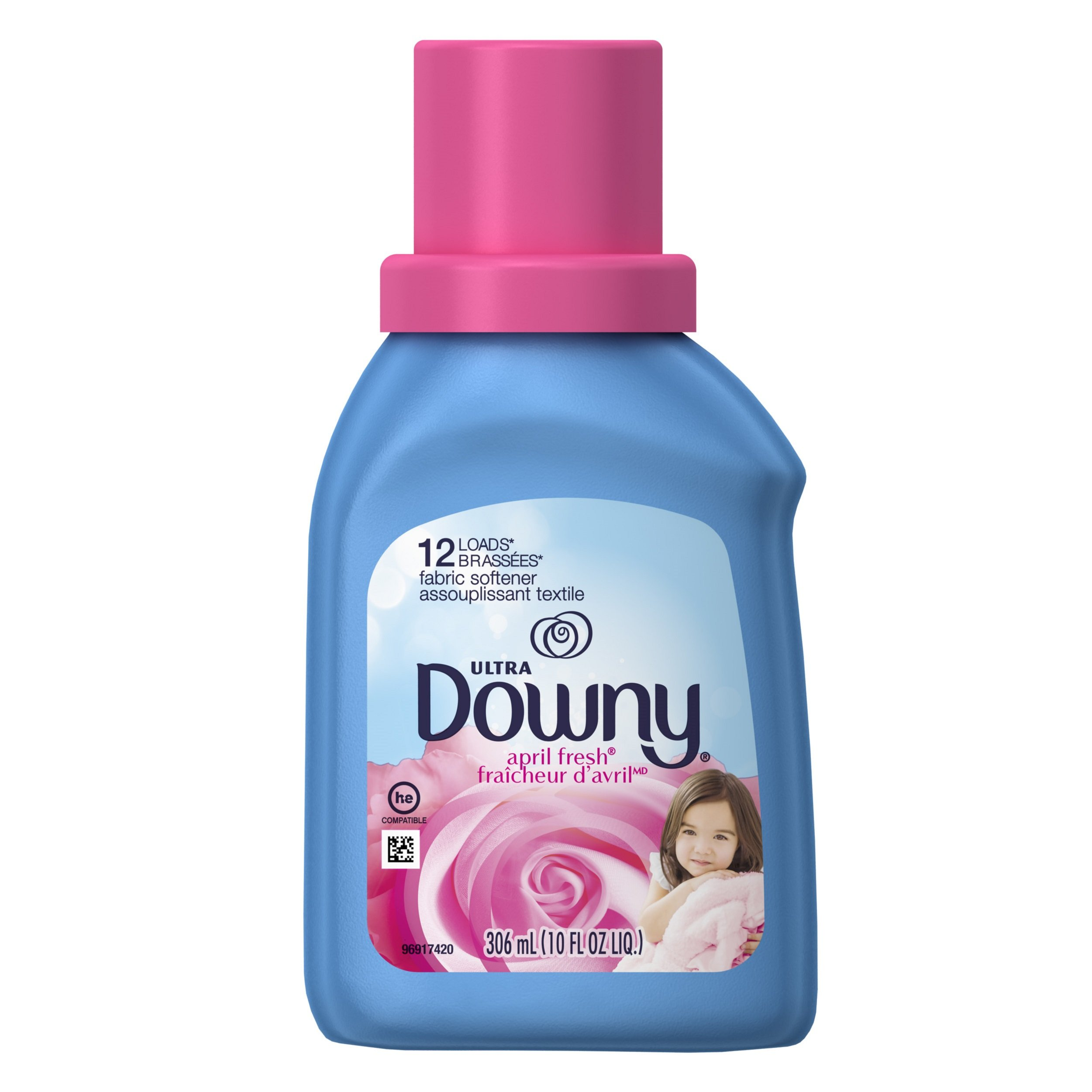 Downy April Fresh Liquid Fabric Conditioner (Fabric Softener), 10 FL OZ
