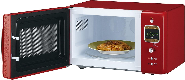 Daewoo KOR-6LBR - Microondas 20 litros digital sin grill, 800 W ...