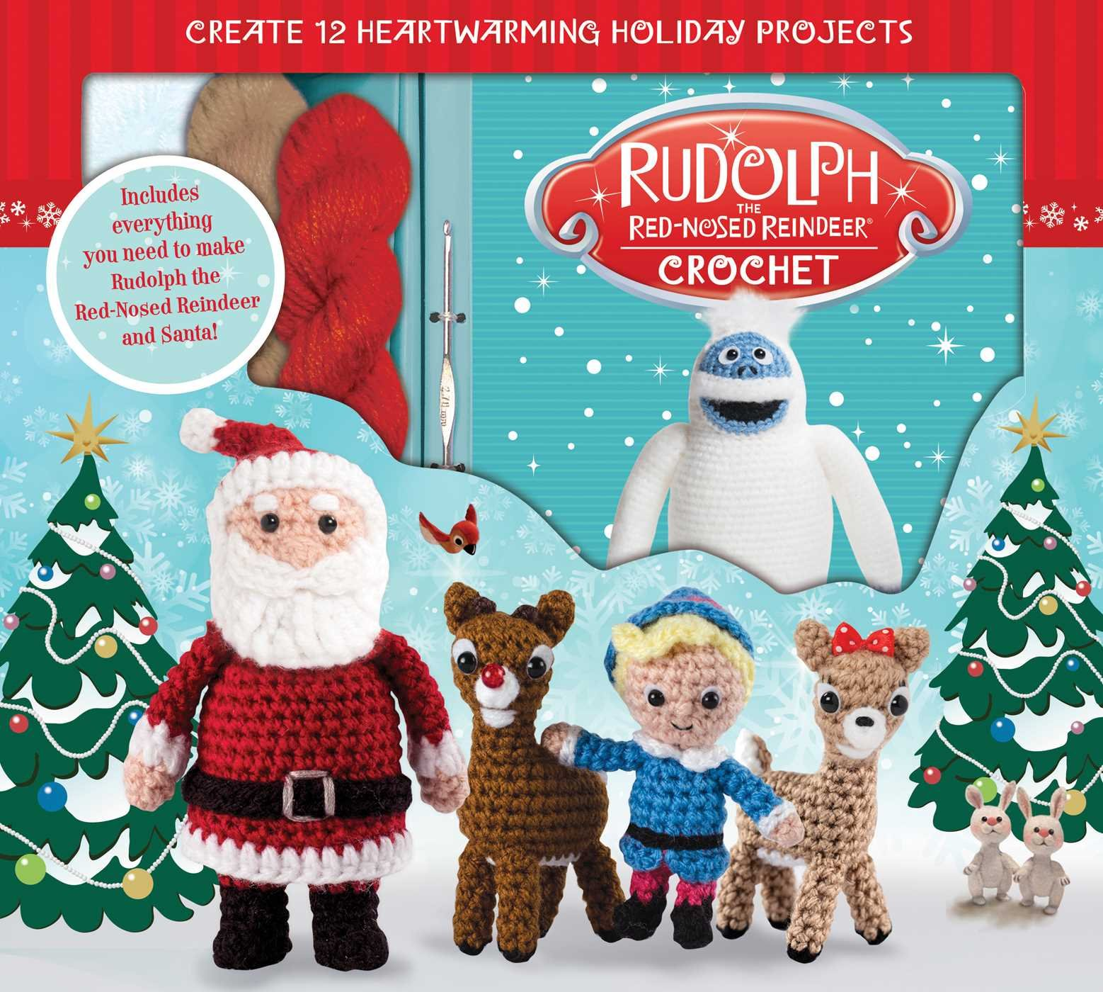 Rudolph the Red-Nosed Reindeer Crochet (Crochet Kits): Kati Galusz ...