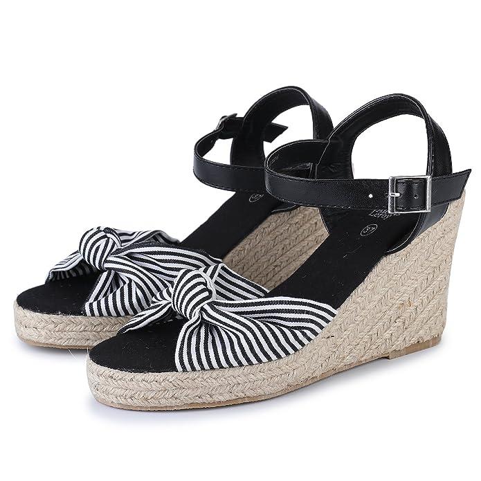 Sandales Talons Chaussures À Leroy Nouées Espadrilles Alexis WIYED2H9e