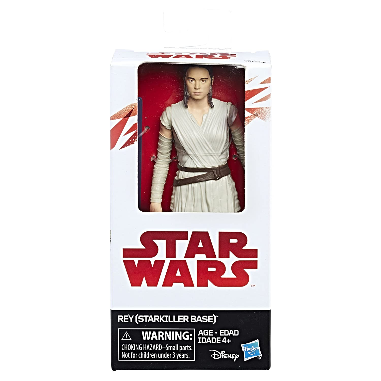 6 Action Figure Hasbro B9891AS20 Starkiller Base Disney Star Wars Rey