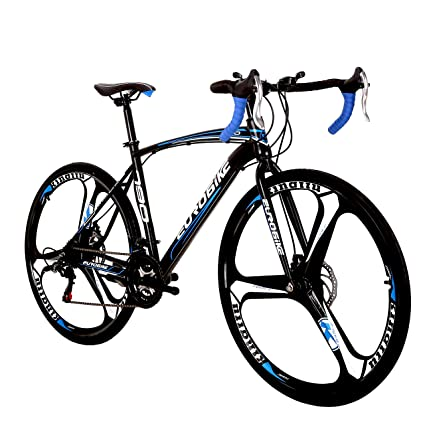 LOOCHO Road Bike (Blue) best road bikes