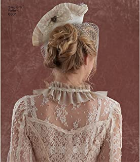 product image for Simplicity 8361 Women's Steampunk Hat Sewing Pattern, Sizes S-L