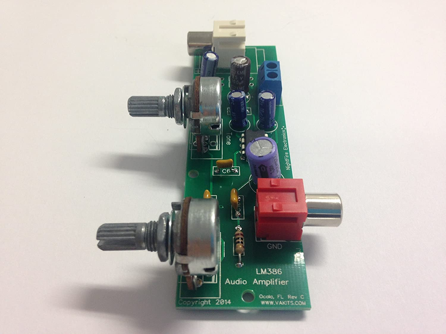 Audio Amplifier Kit With Tone Control Lm386 5328 Audioamp Board The Features A Power Electronics