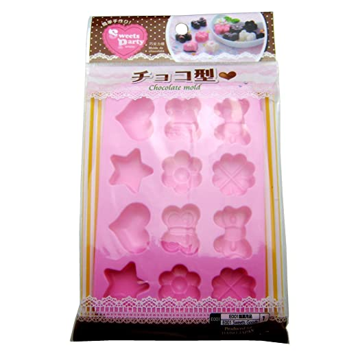 Amazon.com: Daiso Japan Silicone Chocolate Jello Mold: Candy Making Molds: Kitchen & Dining