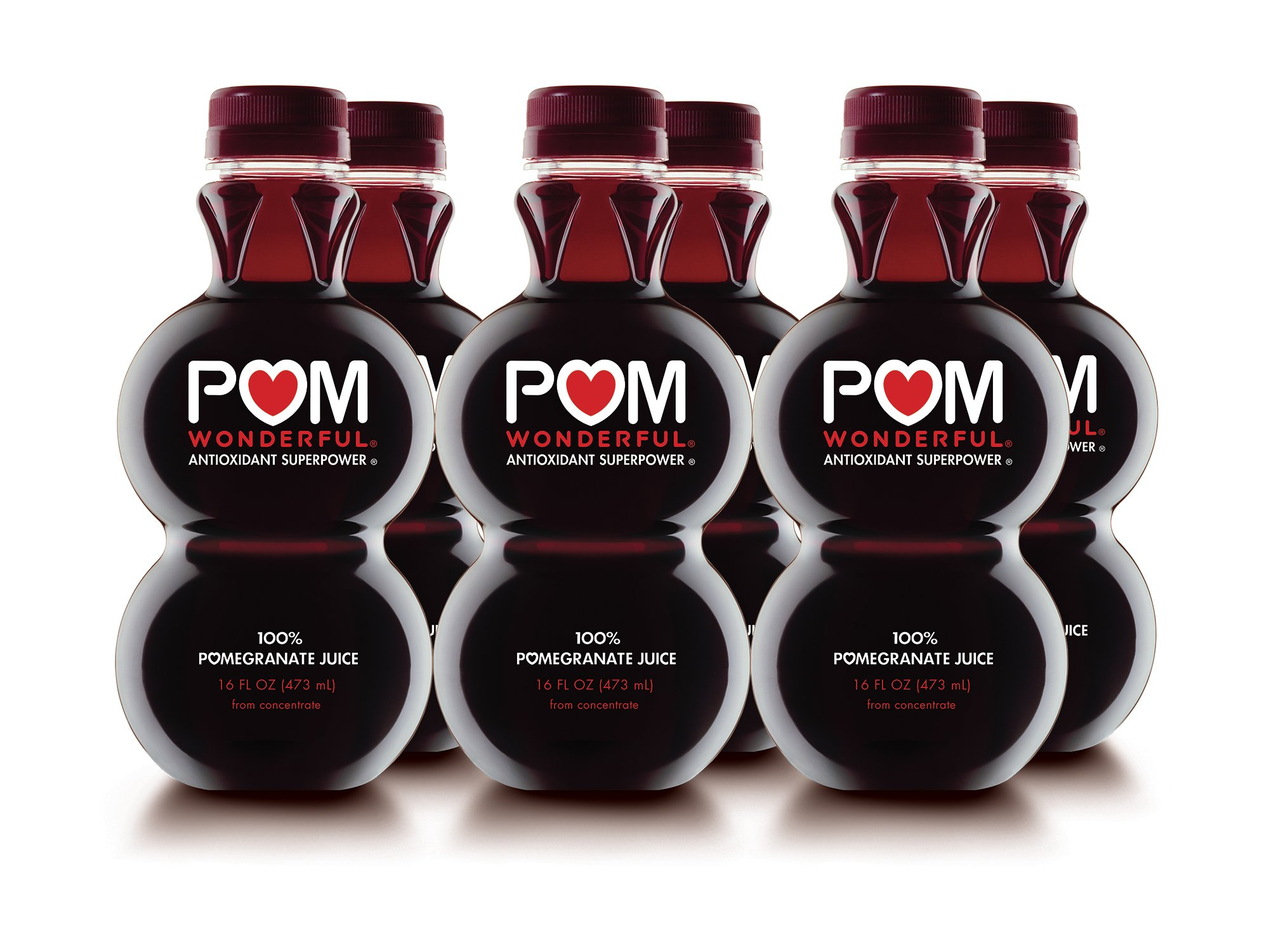 Amazon Com Pom Wonderful 100 Pomegranate Juice 8oz