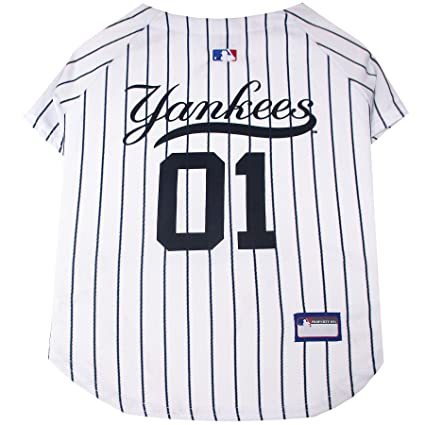 Amazon.com   Pets First MLB New York Yankees Dog Jersey b5e926a2f6f