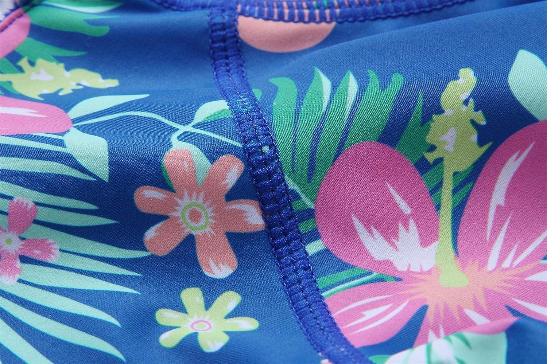 Long//Short Sleeve One Piece Bathing Suit Caracilia Girls Rashguard Swimsuit UV 50